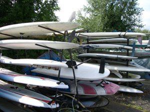 Sailboard and SUP racks