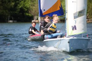Junior sailors