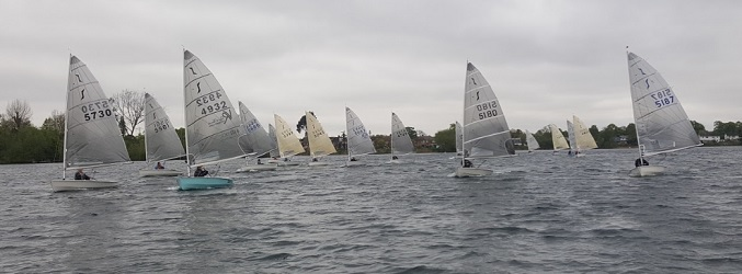 Solo Open Meeting – Sunday 28th April – Littleton Sailing Club