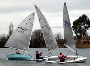 Competitors in Icicle Trophy Race