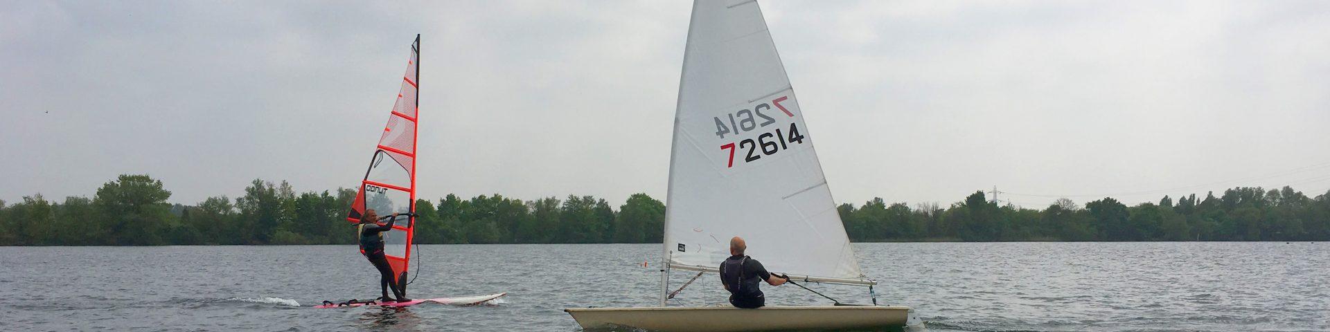 Buddy sailing